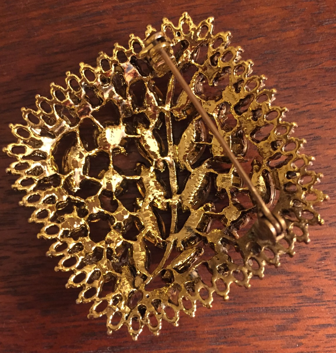 Back of above brooch, unmarked