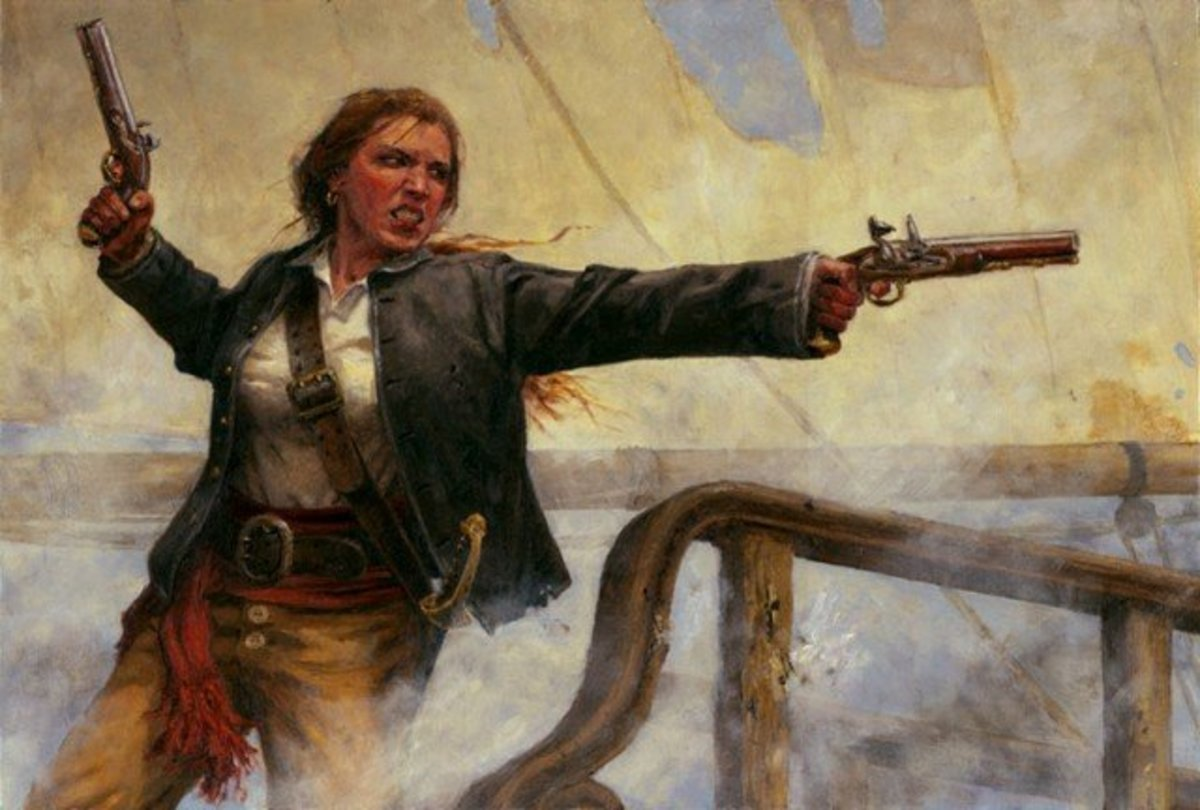 Five Female Pirates from the Golden Age of Piracy