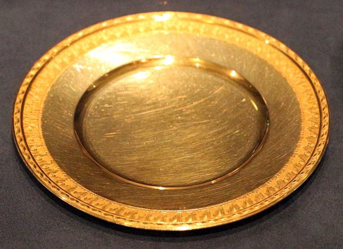 The Censer Incense Plate Might Have Looked Like This