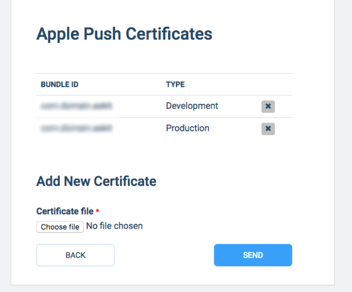Setup iOS Push Notifications