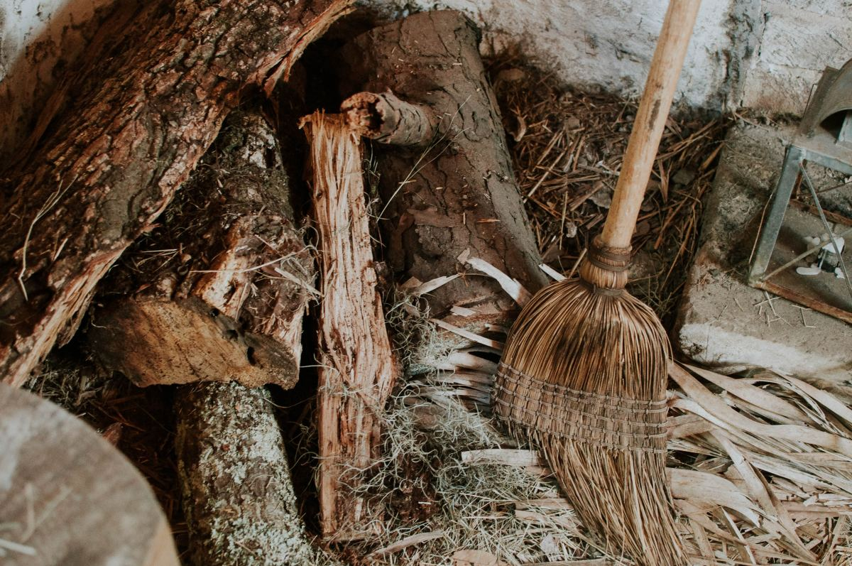 Wooden Broom and Sweeping (Photo by Jessica Furtney on Unsplash)
