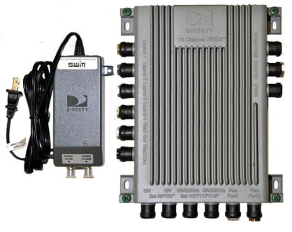 DirecTV SWiM-16 & Multi-Switch installation
