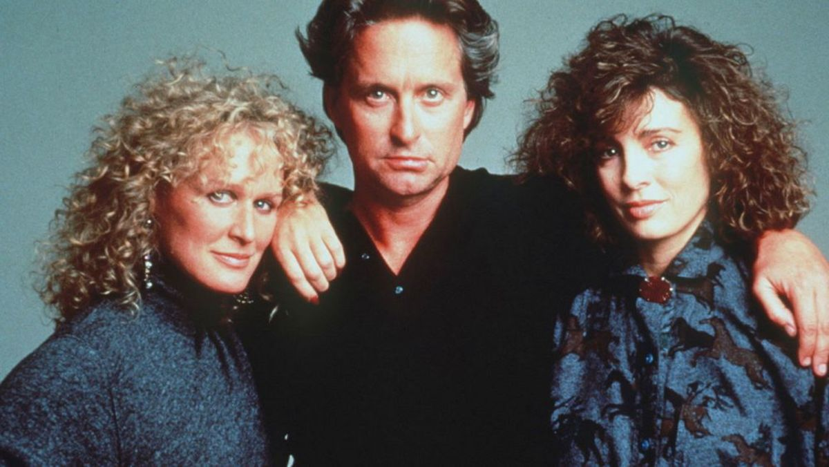 Fatal Attraction - the movie that coined the phrase 'Bunny Boiler.'