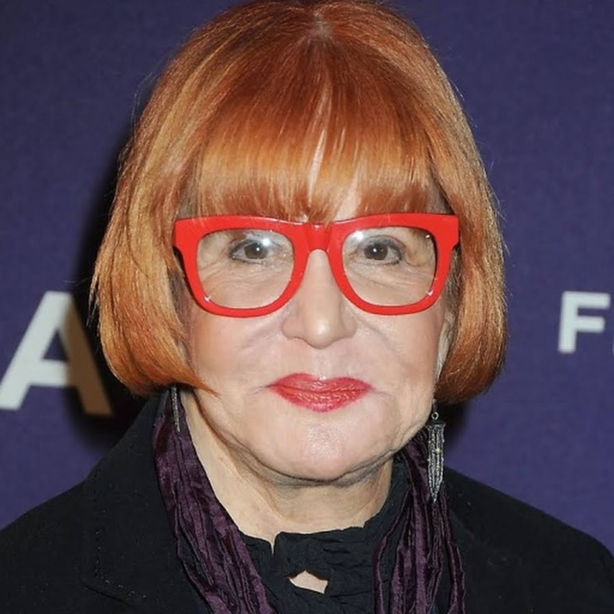 Sally Jessy Raphael always wore red frames. She did not change them because they began her signature.