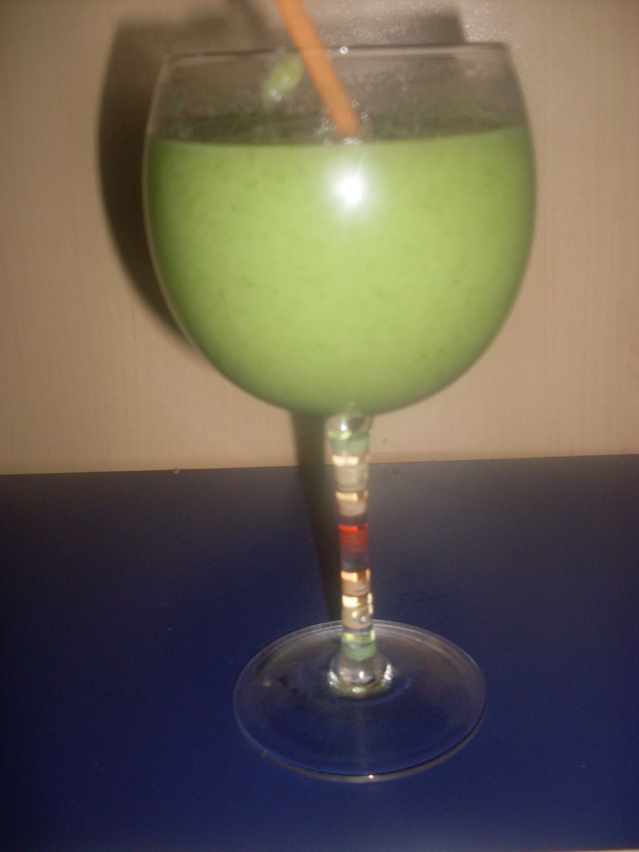 broccoli and pear smoothie