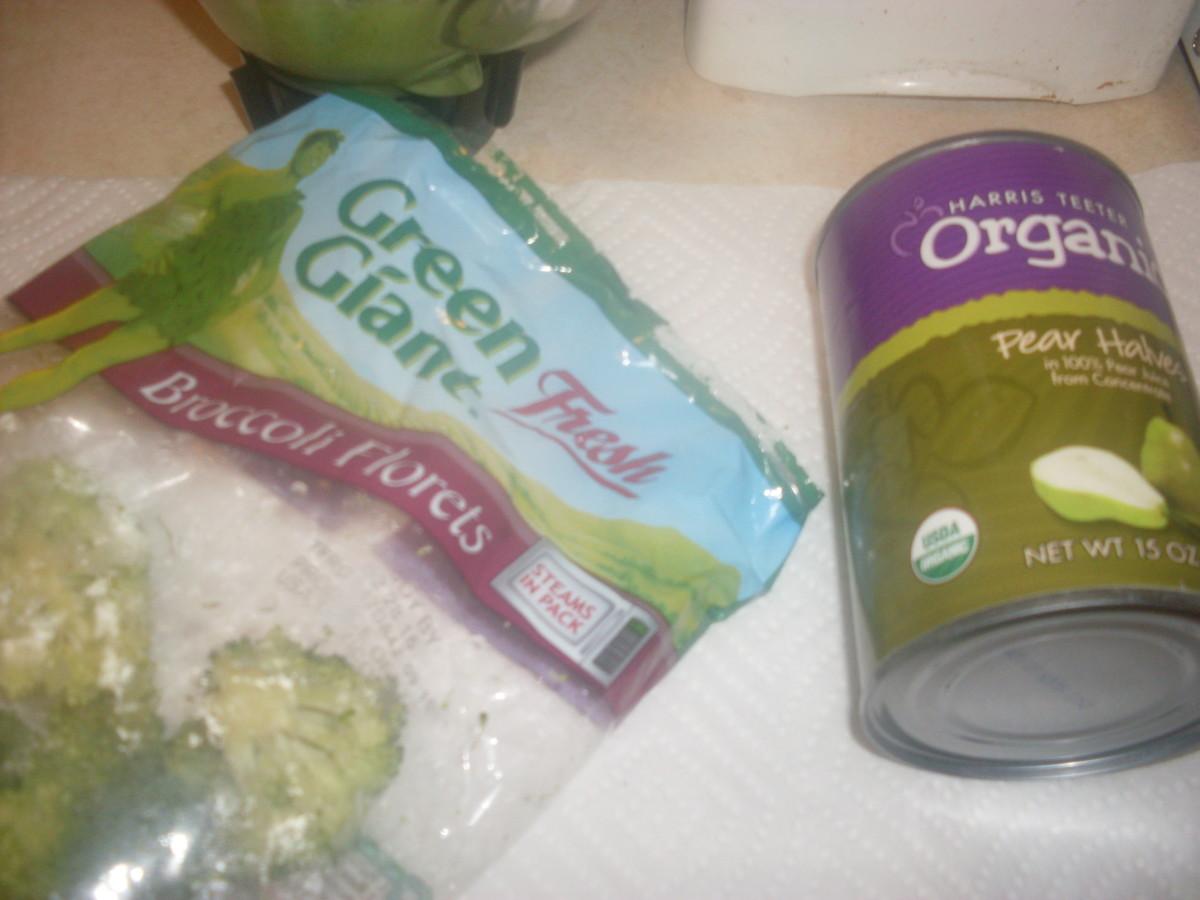 Green Giant brand broccoli florets