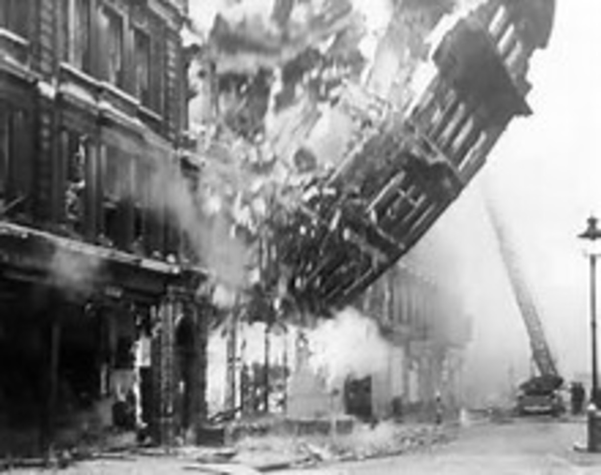 London Blitz at it height.