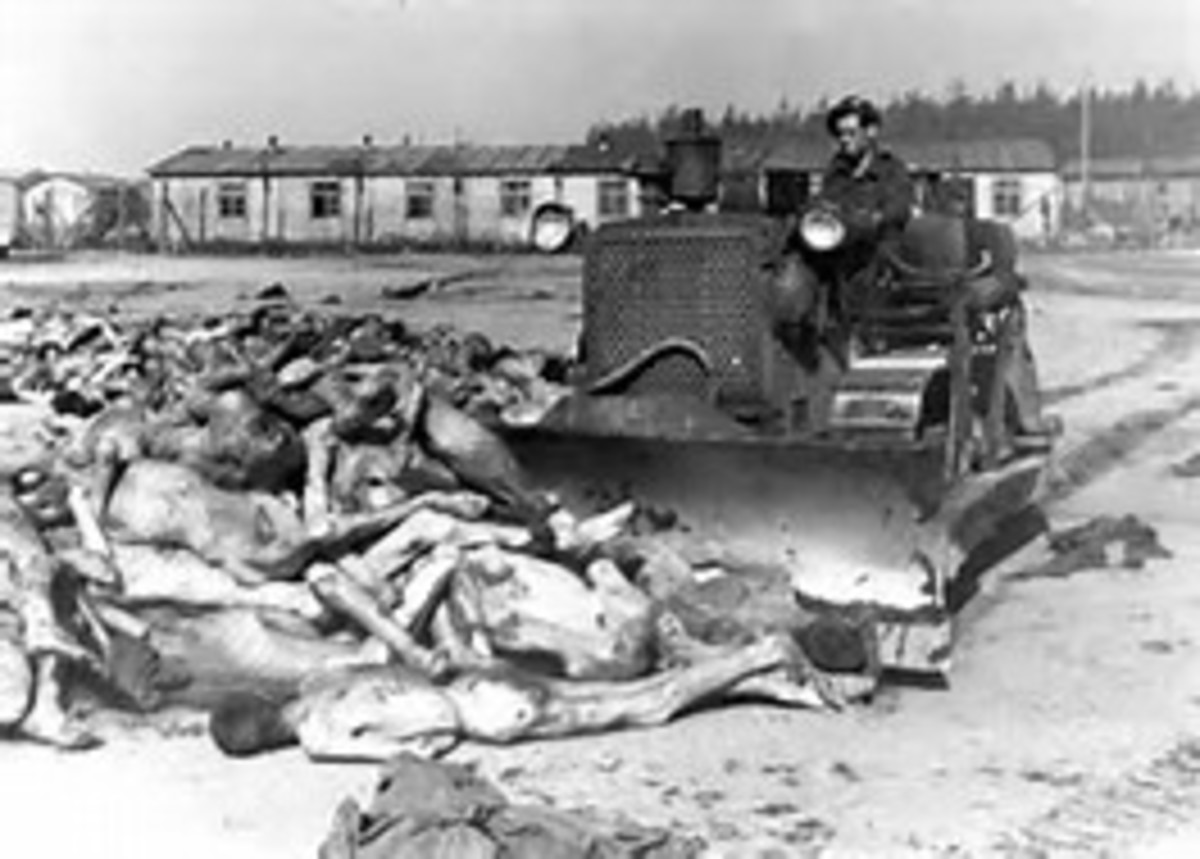 The horrifying discovery of Belsen and other concentration/death camps