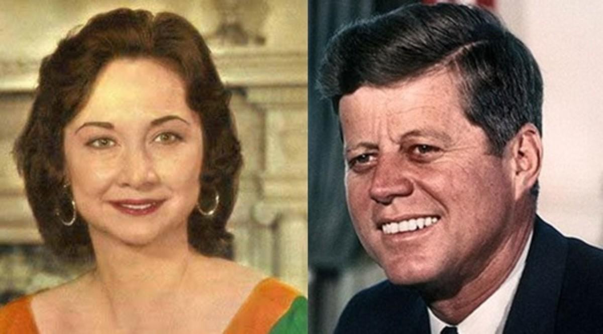 Dorothy Kilgallen and President John F. Kennedy