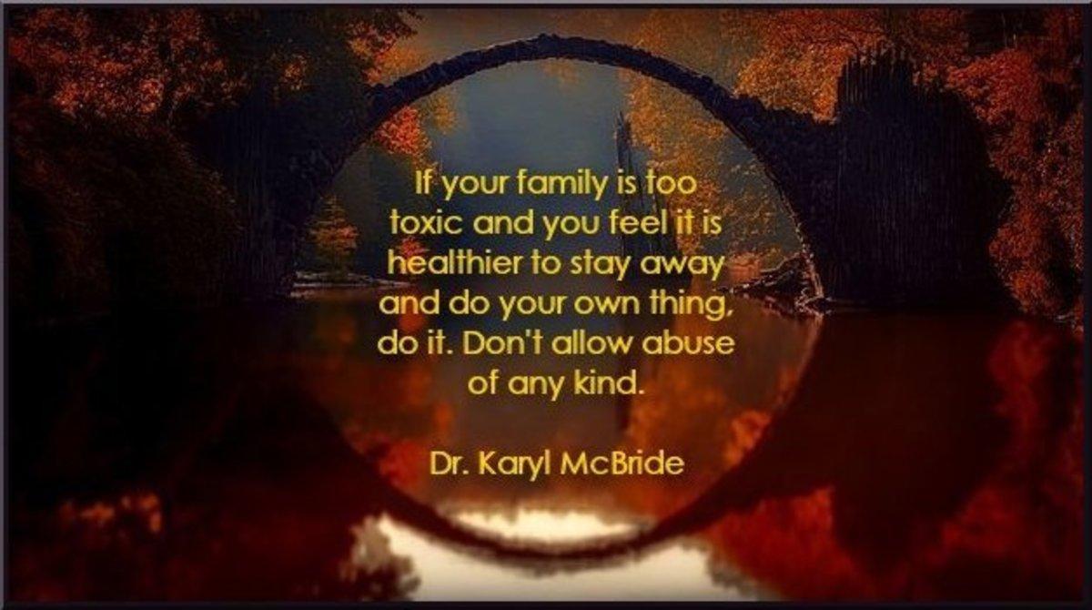 Dr. Karyl McBride Quote