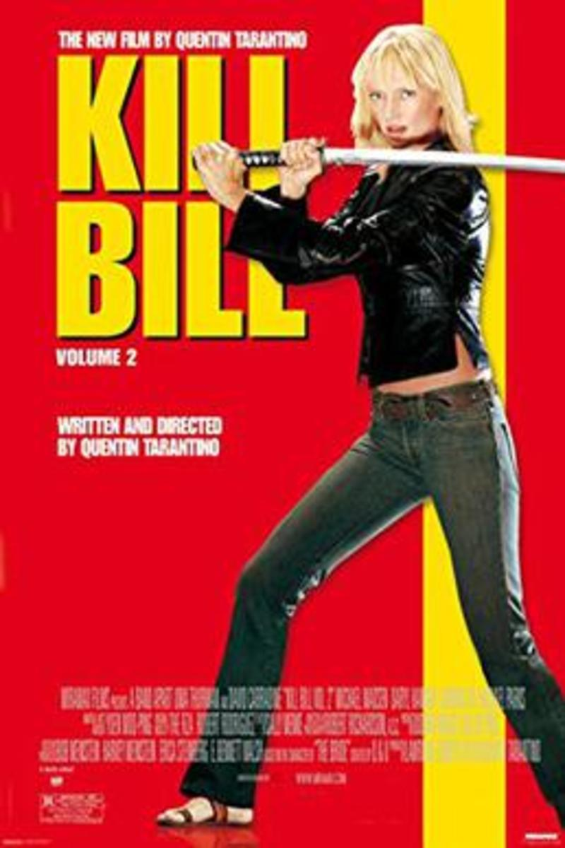 Kill Bill Volume II Theatrical Release Poster