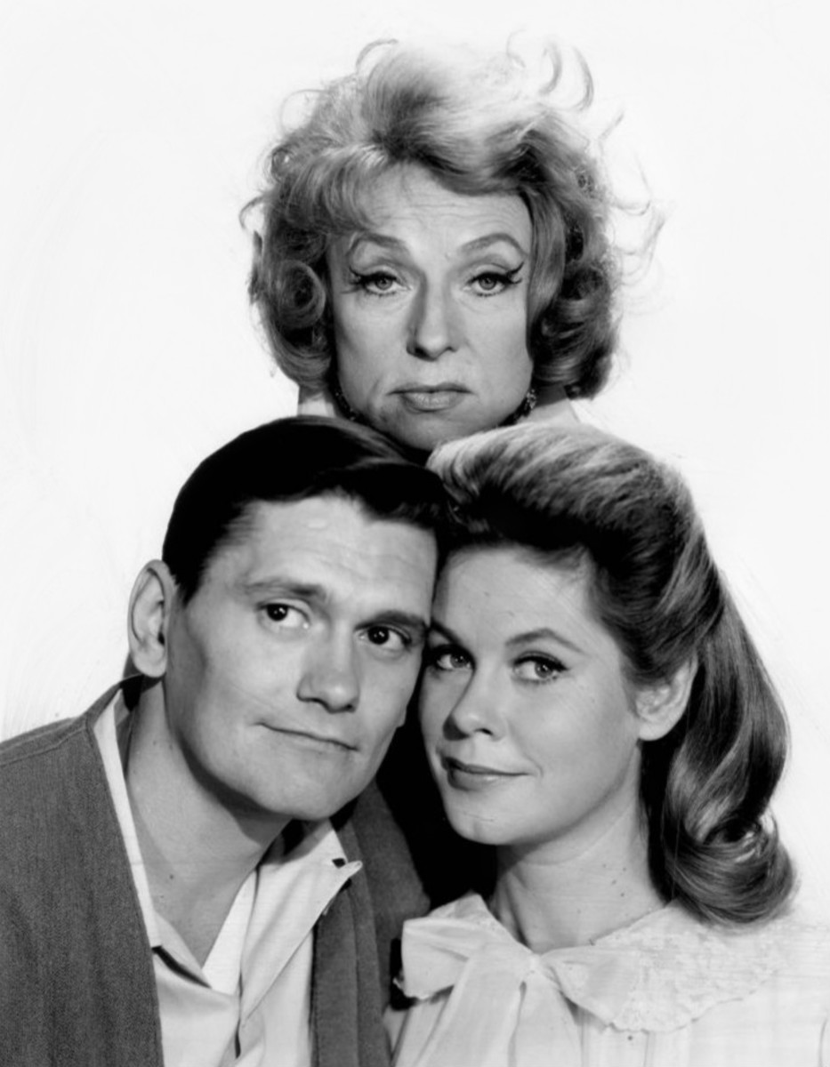 Bewitched - husband, wife, and mother-in-law.
