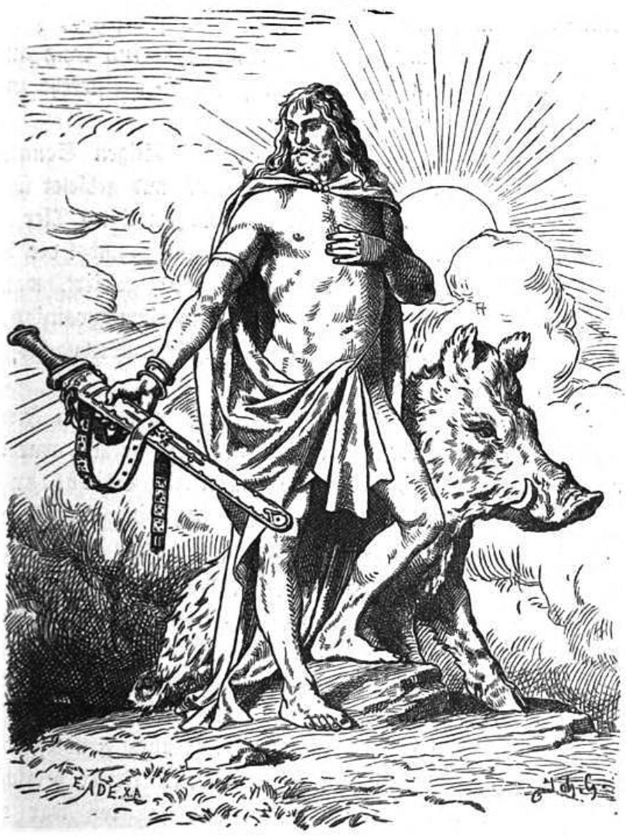 Freyr: Lord of Alfheim