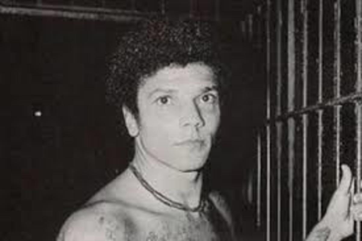 Pedro looks almost surprised to find himself in prison, even after committing 71 murders.