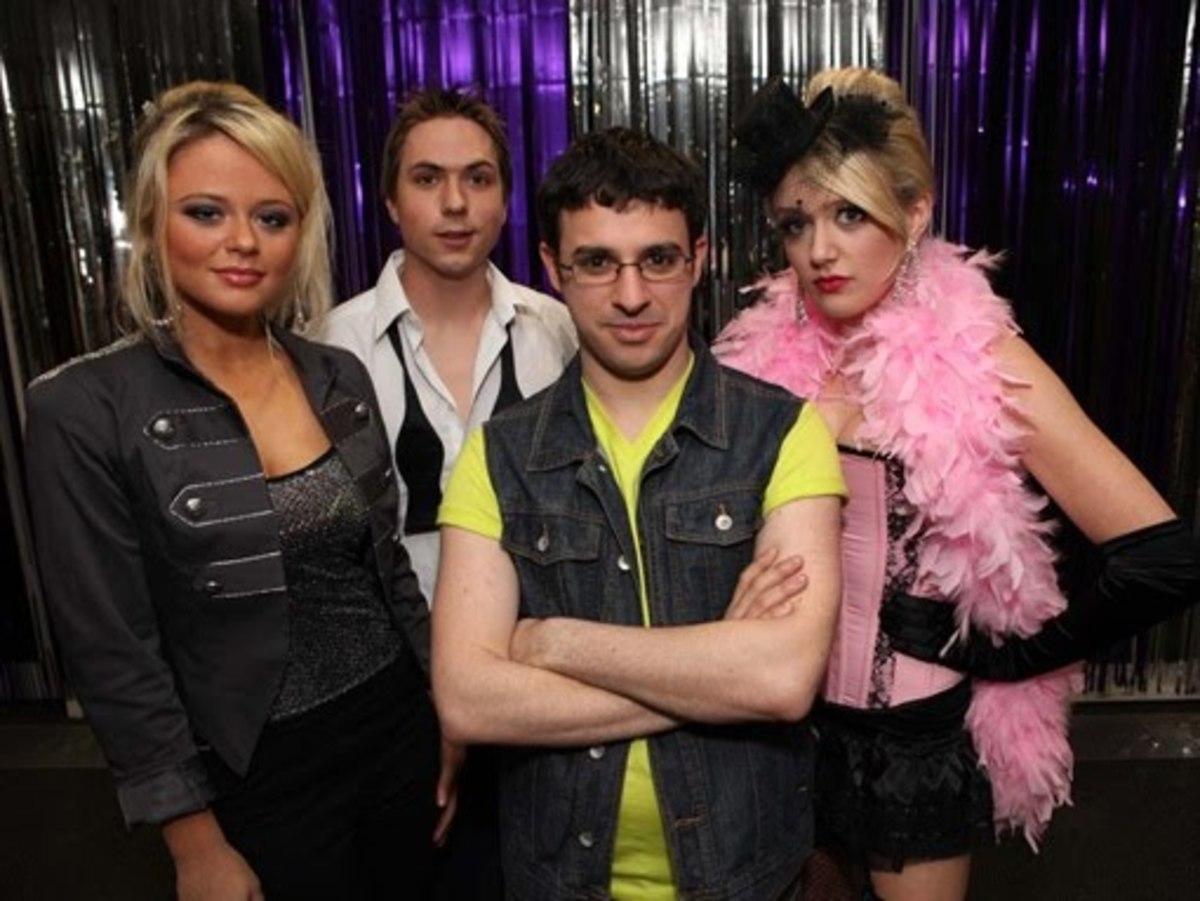 Charlotte, Simon, Will, Carly