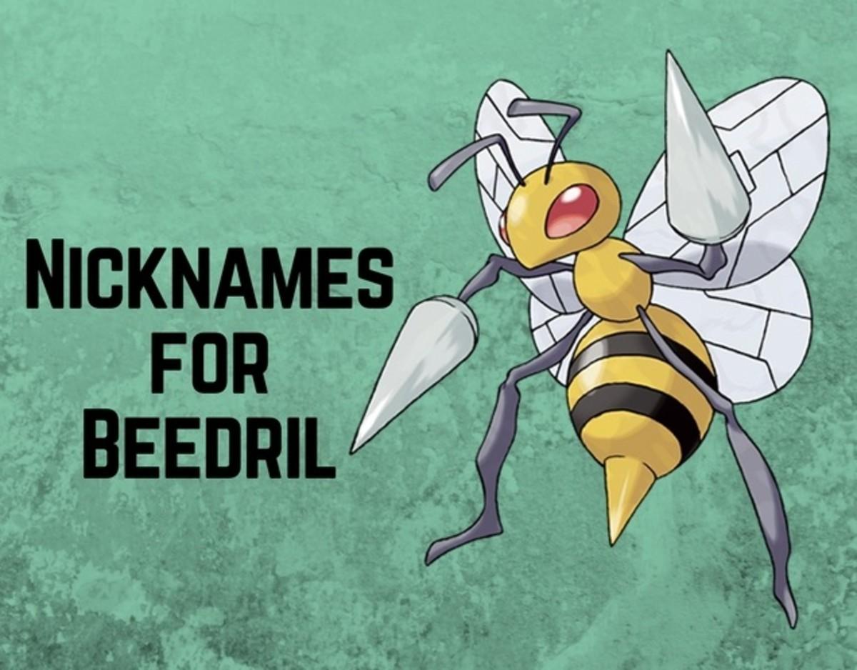 Pokémon: Beedrill Nicknames