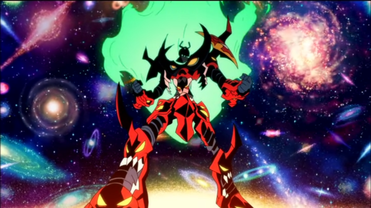 Gurren Lagann is most epic robot of all times!