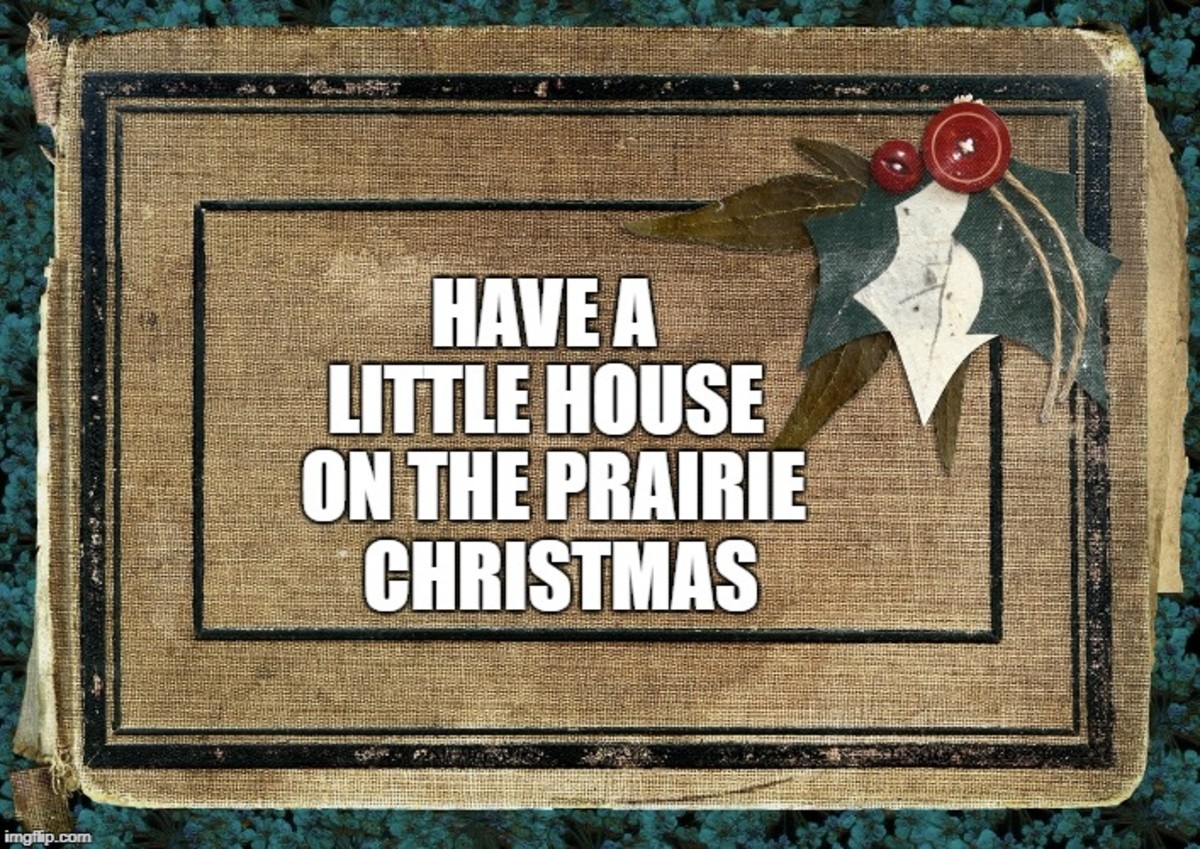 Have a Little House on the Prairie Christmas
