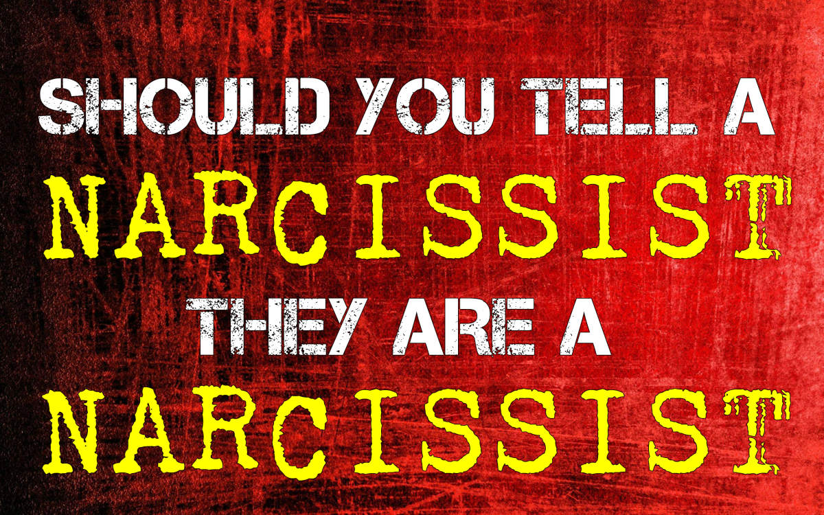 Should You Tell a Narcissist They Are a Narcissist?
