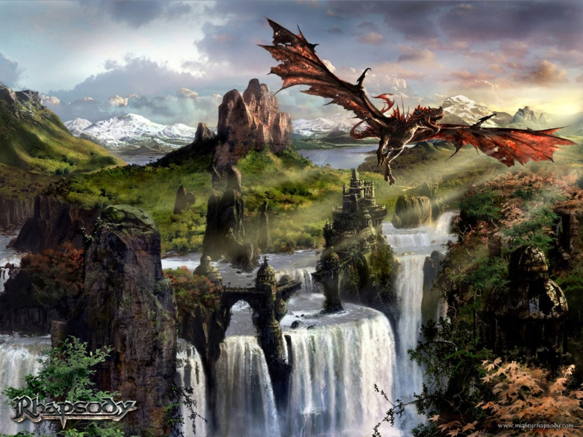 Review of the Album Symphony of Enchanted Lands Part 2- The Dark Secret by Italian Power Metal Band Rhapsody of Fire