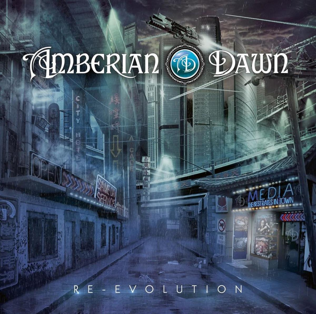 Review: Re-Evolution the 2013 Studio Album By Finnish Neoclassical Power Metal Band Amberian Dawn