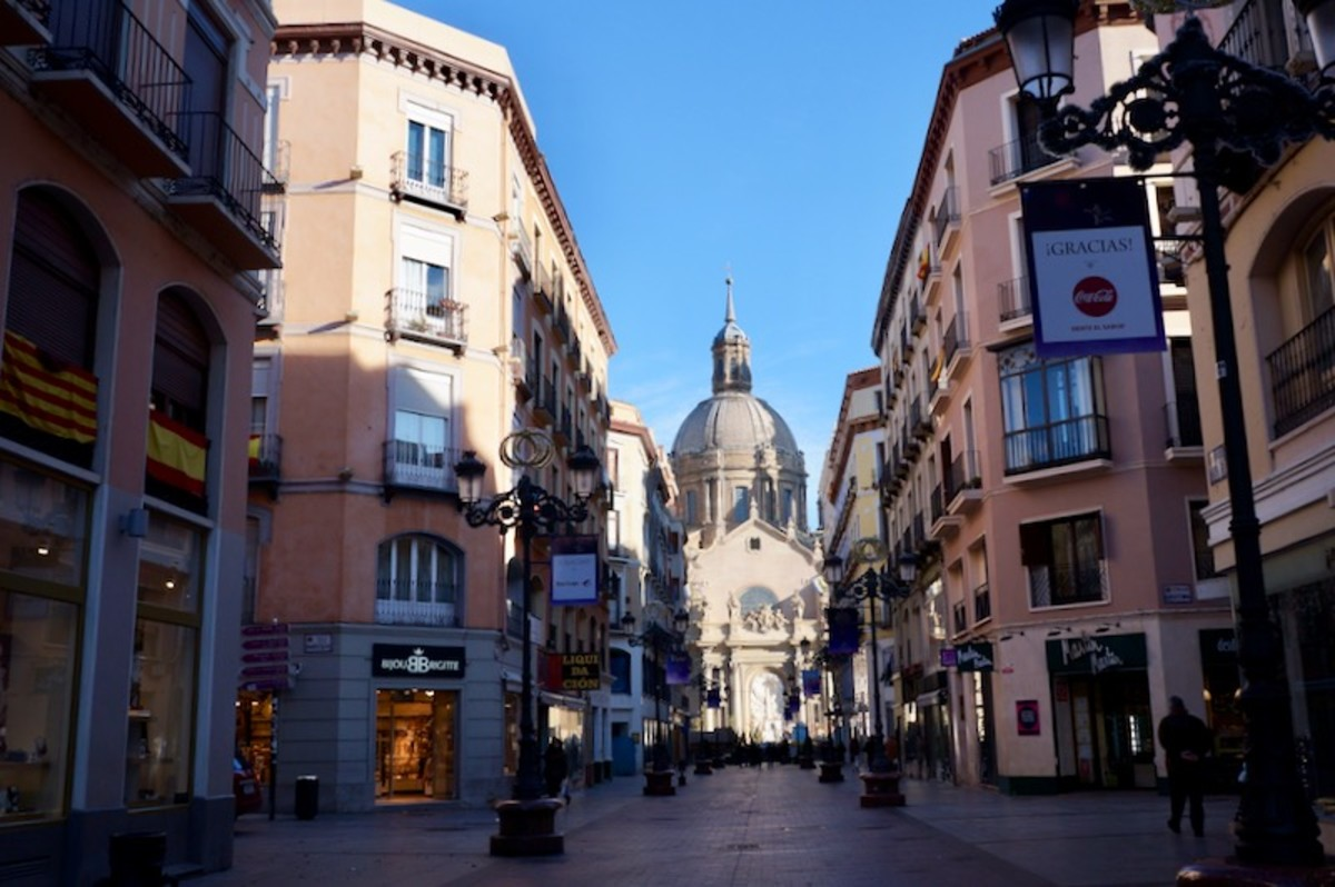 The Centre of Zaragoza