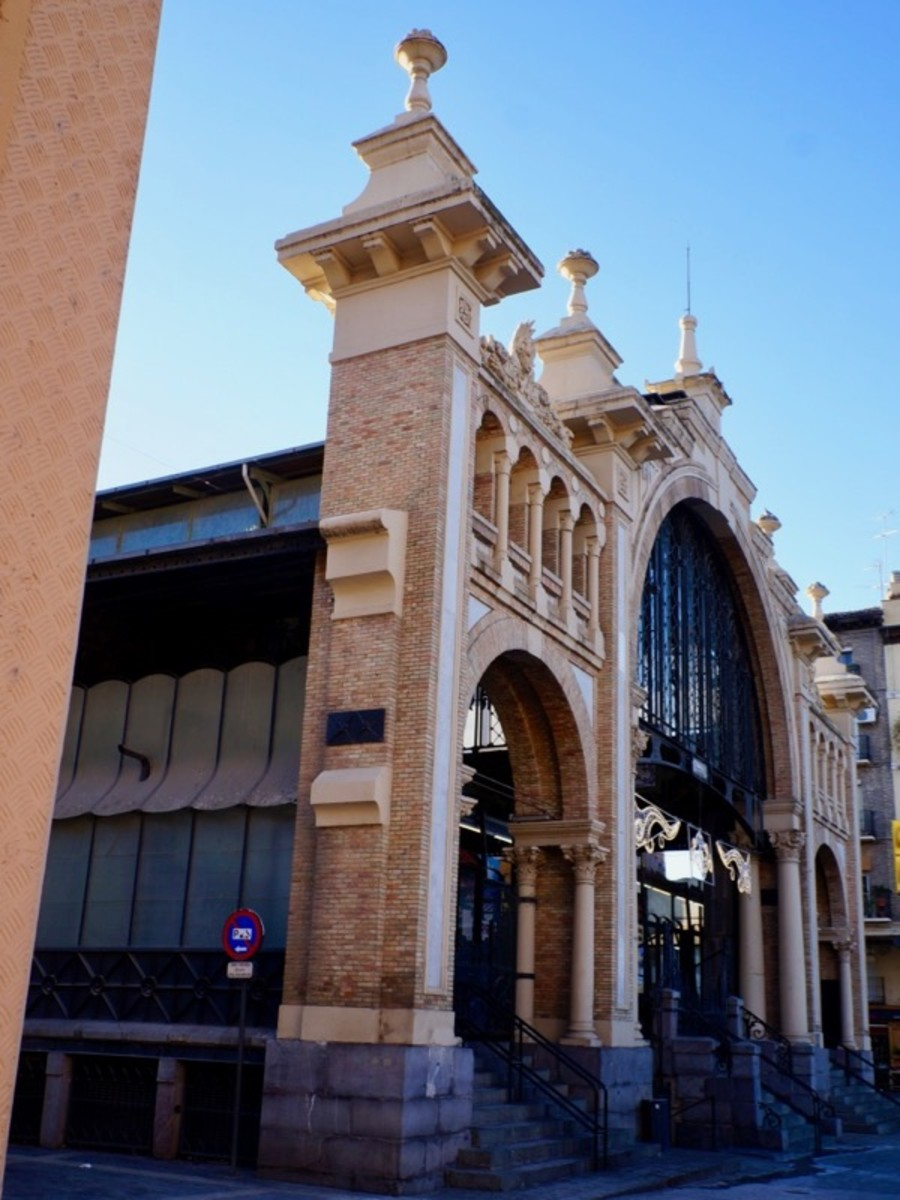 Central Market in Zaragoza