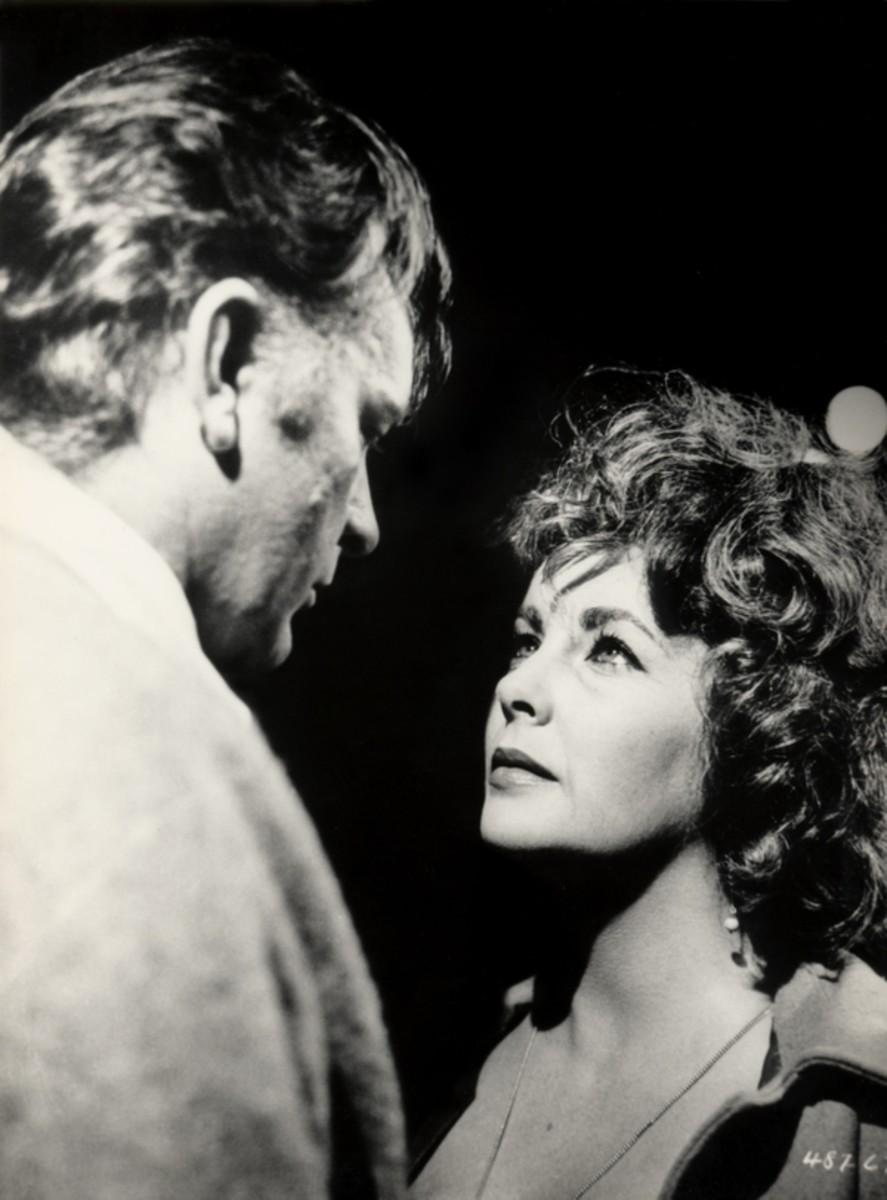 Richard Burton and Elizabeth Taylor in Who's Afraid of Virginia Wolf