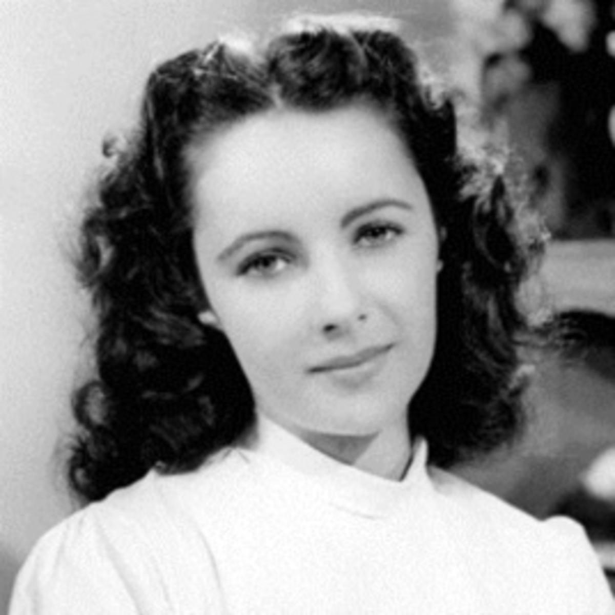 Elizabeth Taylor, 14 years old, 1946