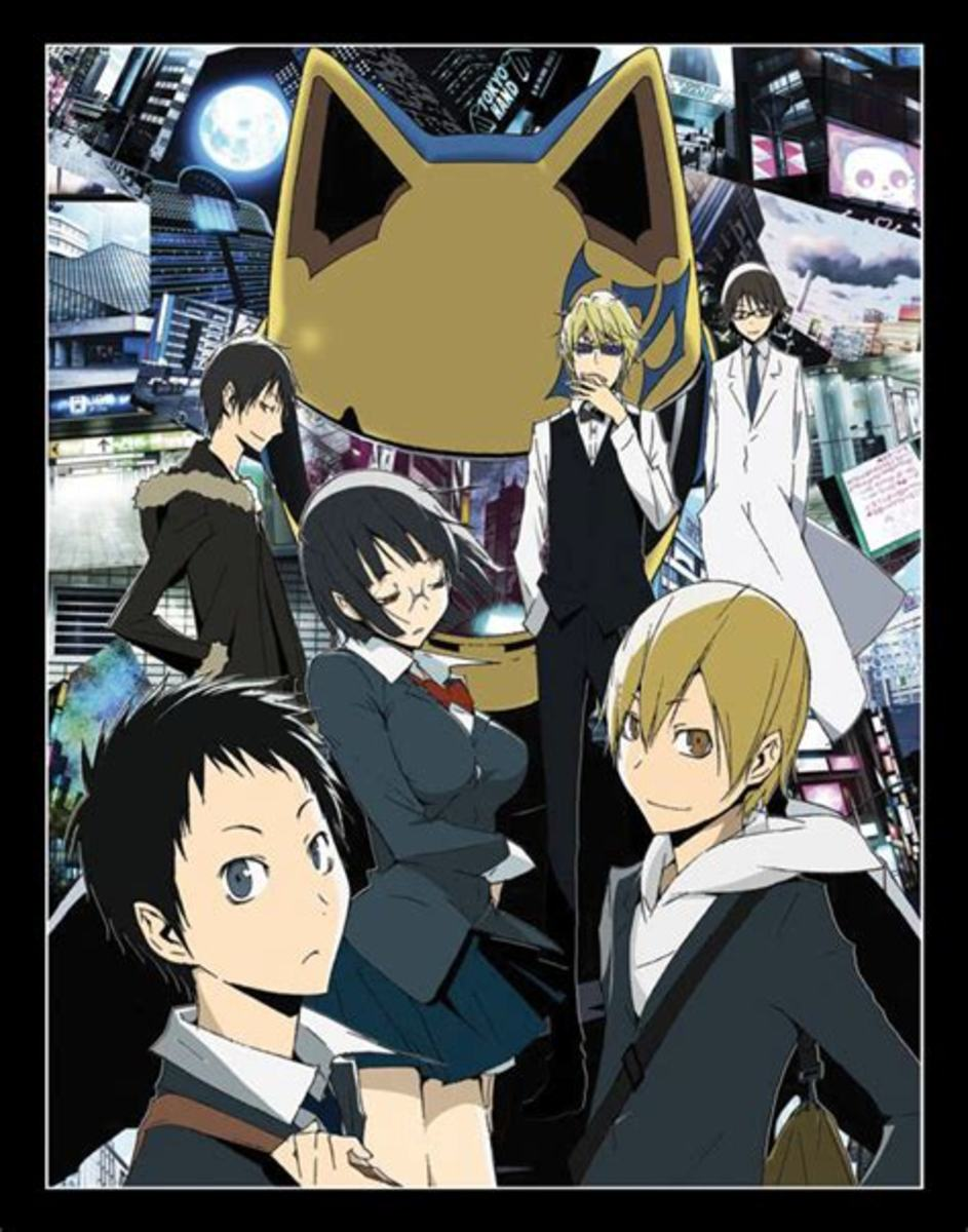 Anime Review: Durarara!! (2010)