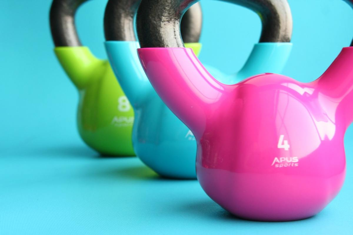 Do a few kettlebell exercises at home whenever you feel bored.