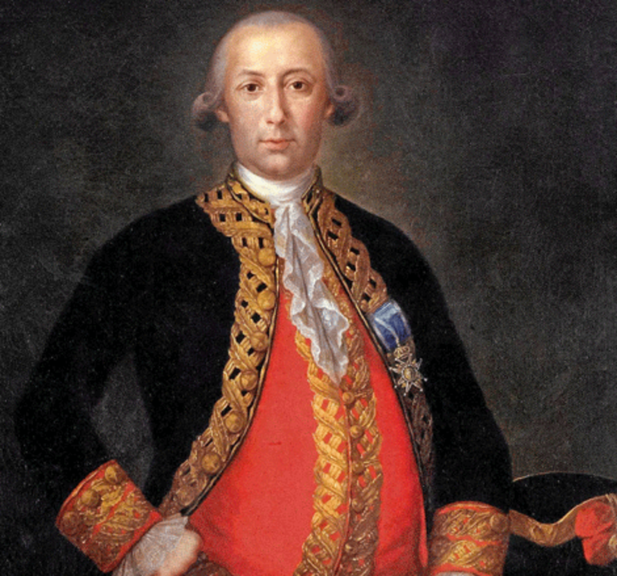 The Spanish General Bernardo de Gálvez
