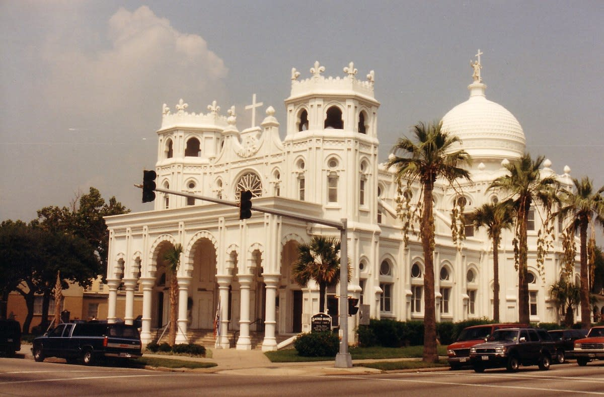 Sacred Heart Catholic Church in Galveston, Texas