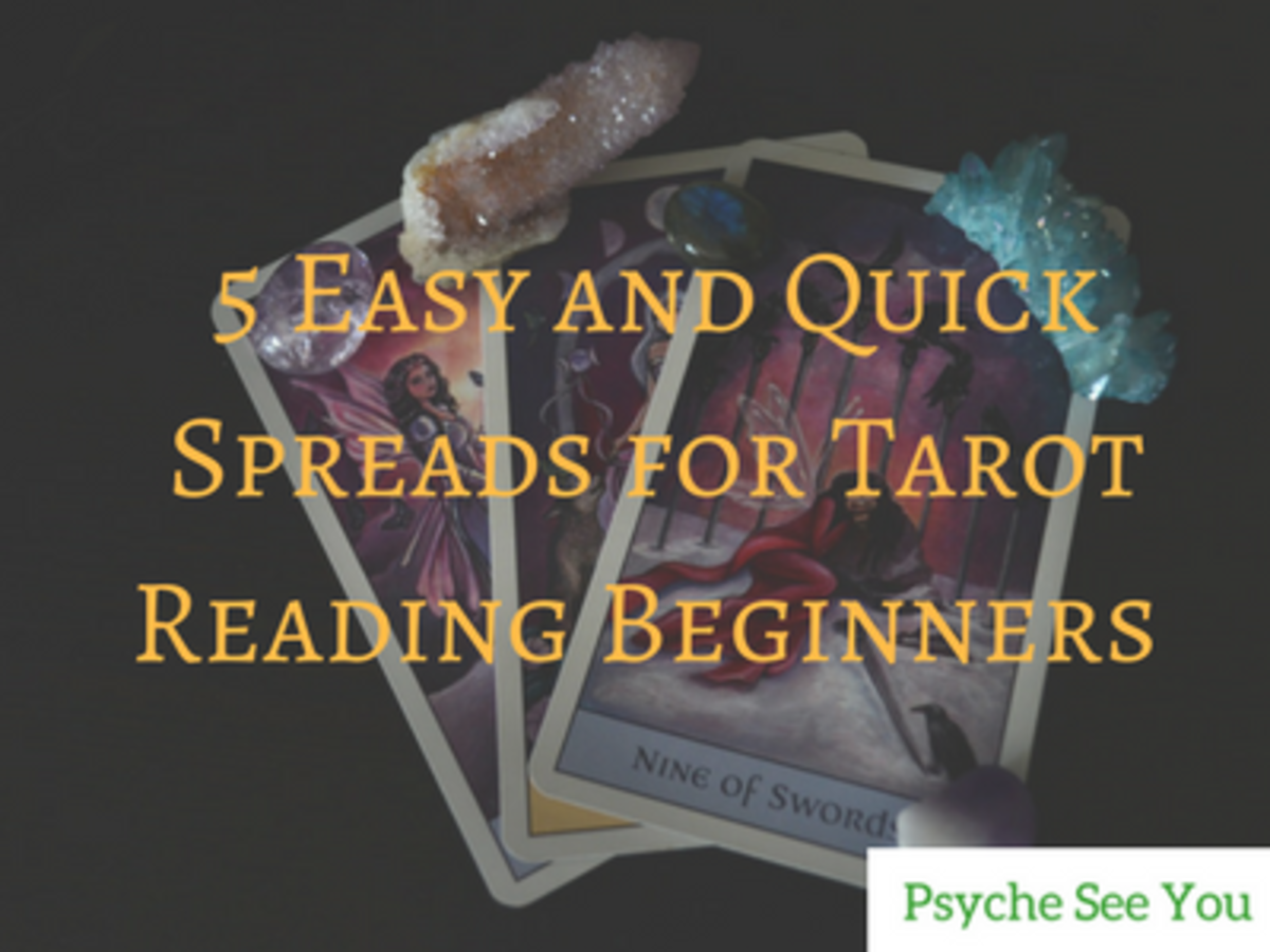 5 Easy and Quick Tarot Spreads for Beginners
