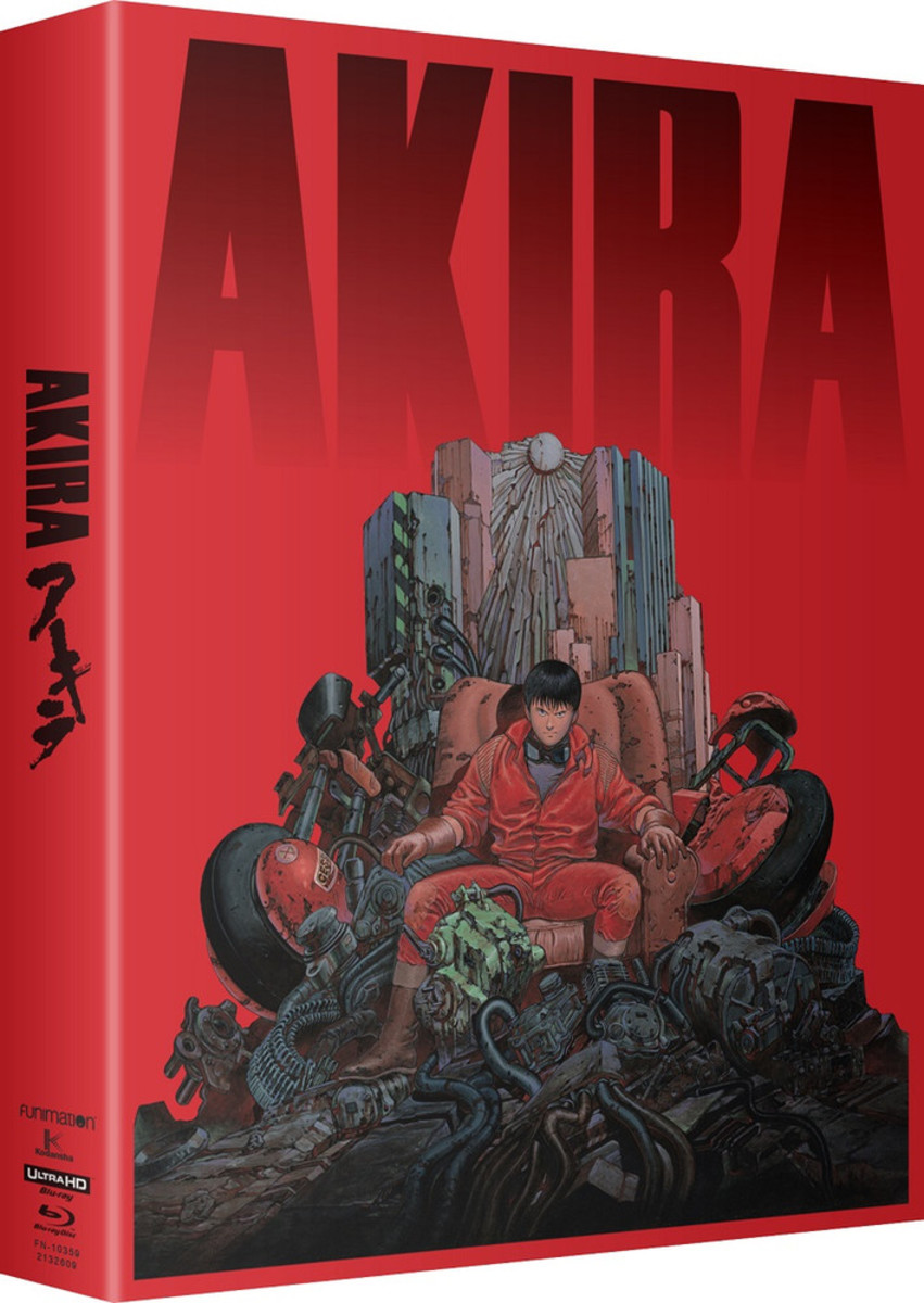 """""""Akira"""" 4K blu-ray limited edition official cover art."""