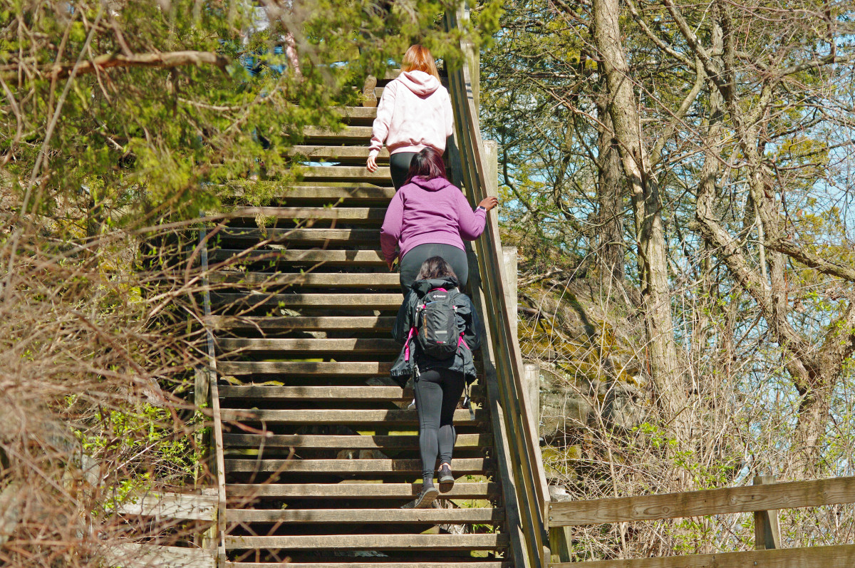 Starved Rock stairway