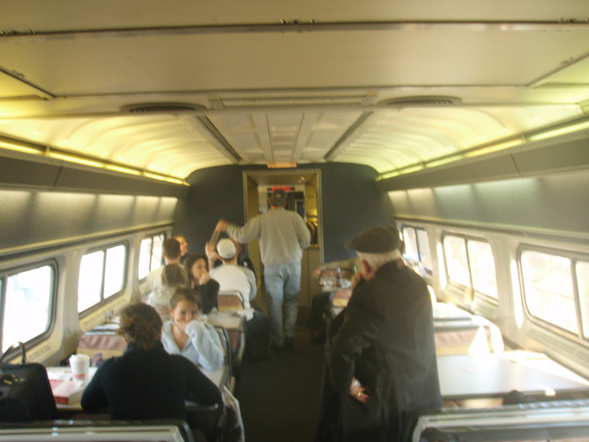 The Amtrak Snack Car