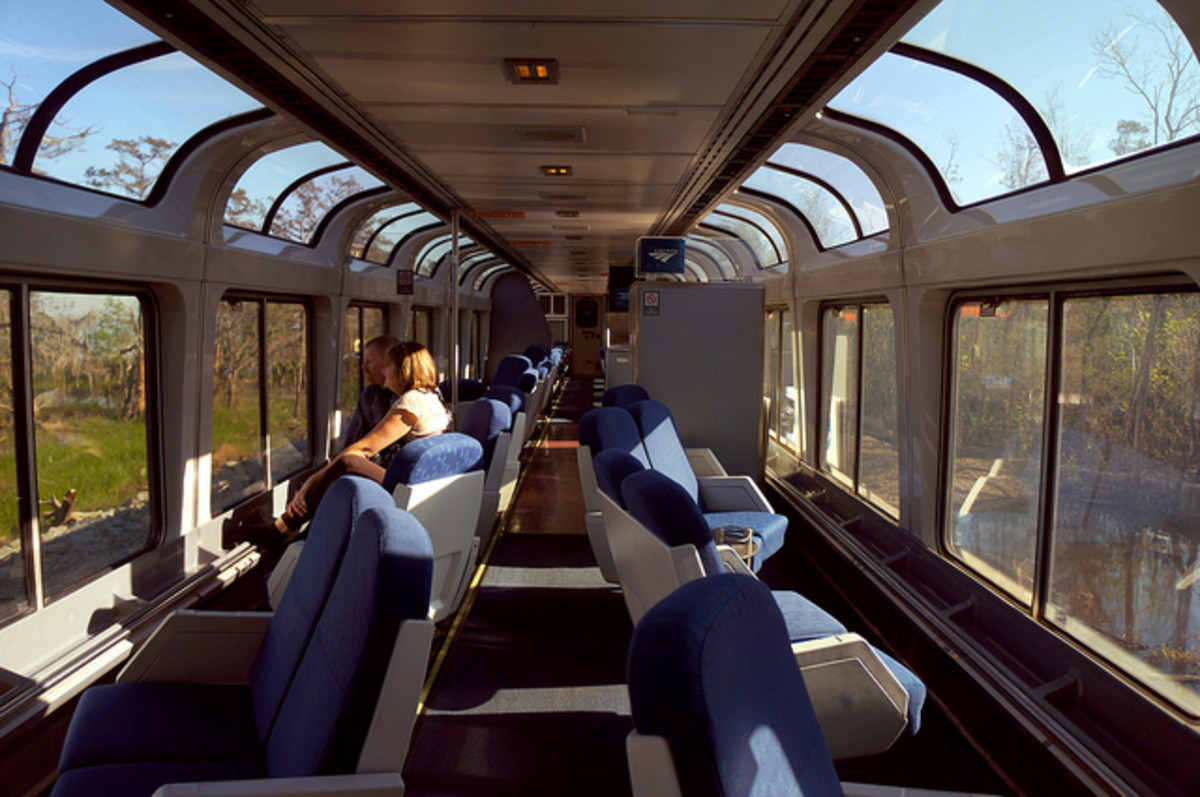 Amtrak observation carriage