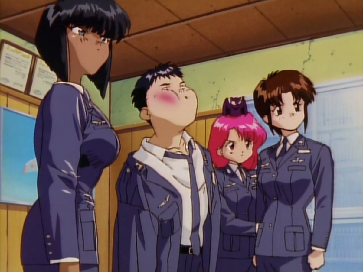 A series of unfortunate mishaps causes Isurugi's initial reception to be...less than warm.