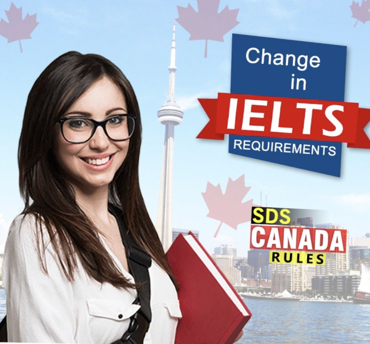 IELTS requirement is changed under SDS