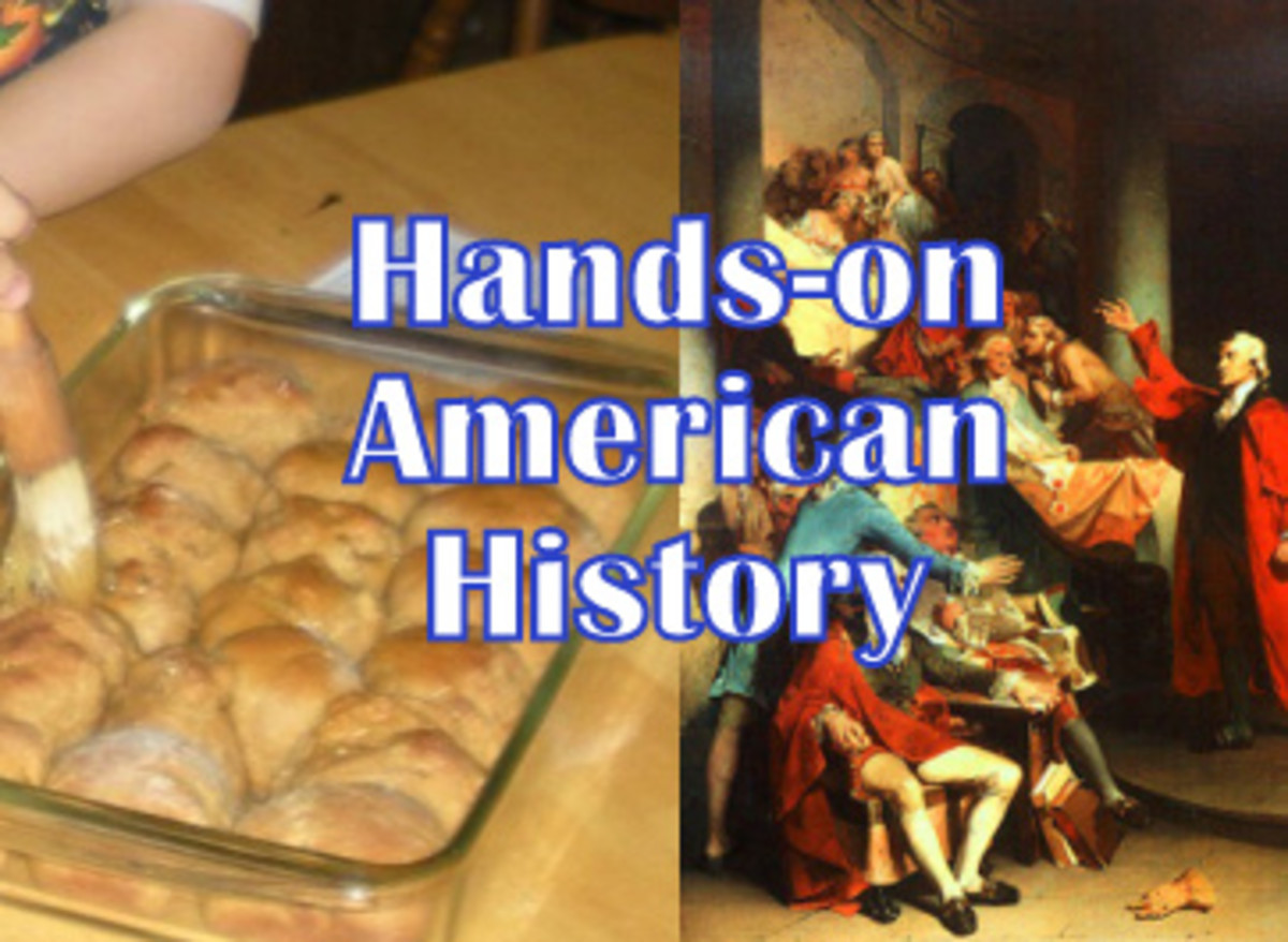 Hands on American History Lesson: Revolution Rumblings