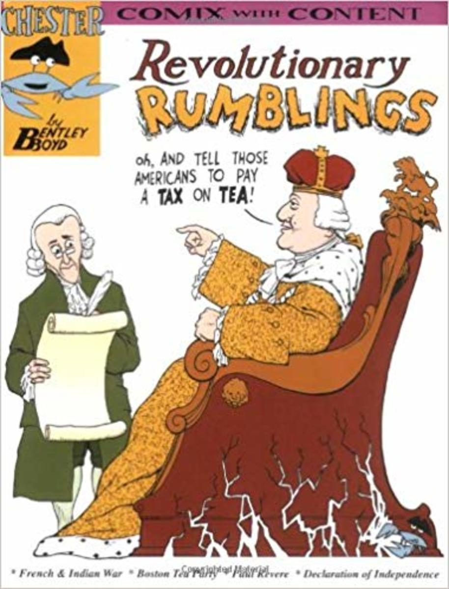 Revolutionary Rumblings (Chester the Crab's comics with content series) by Bentley Boyd