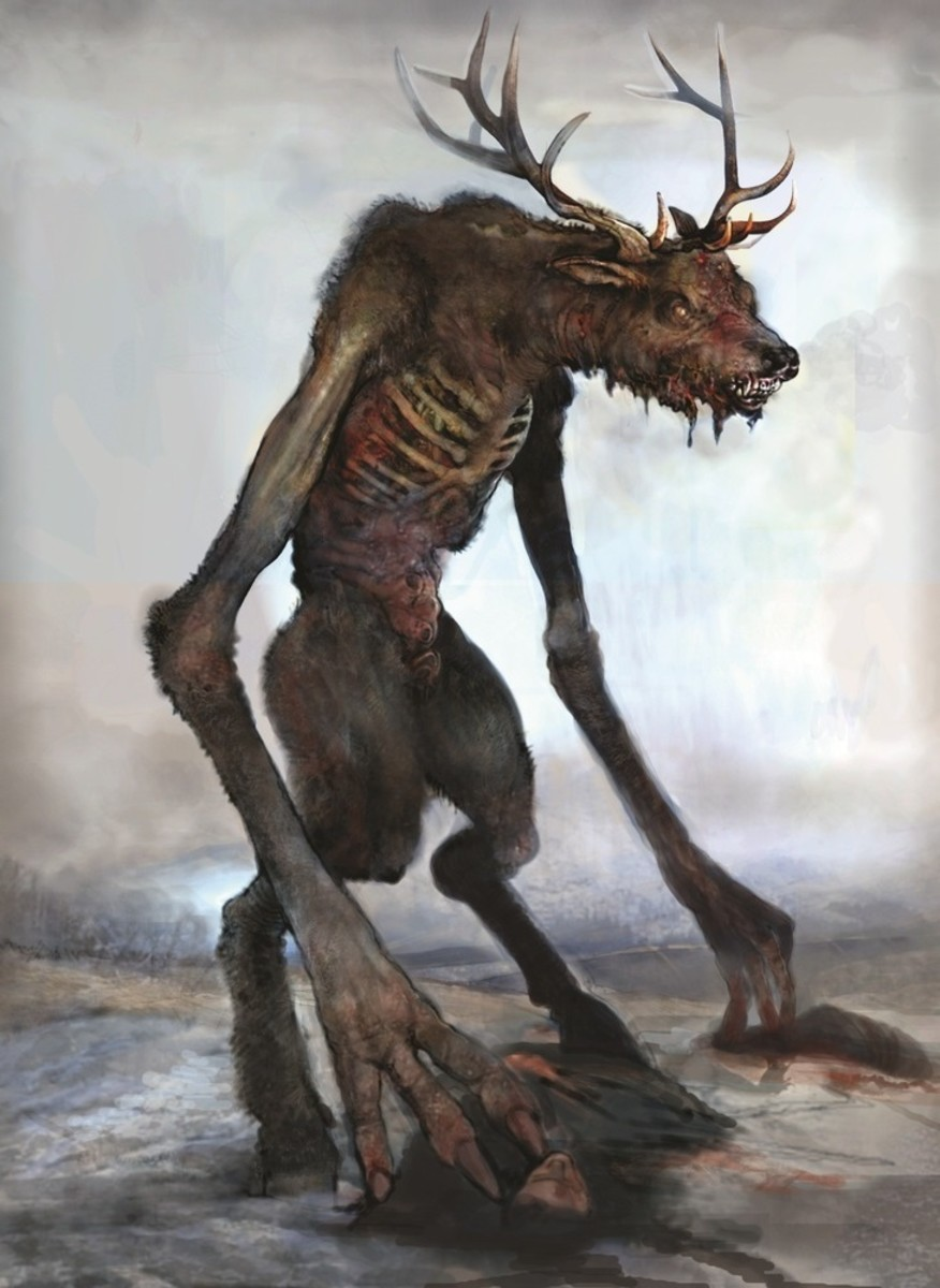 the-paranormal-wendigo-legend-and-encounters