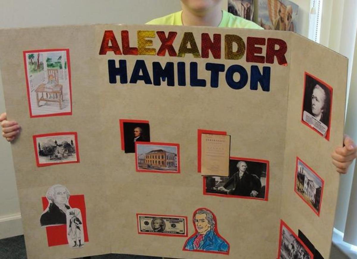 Student presentation on Alexander Hamilton