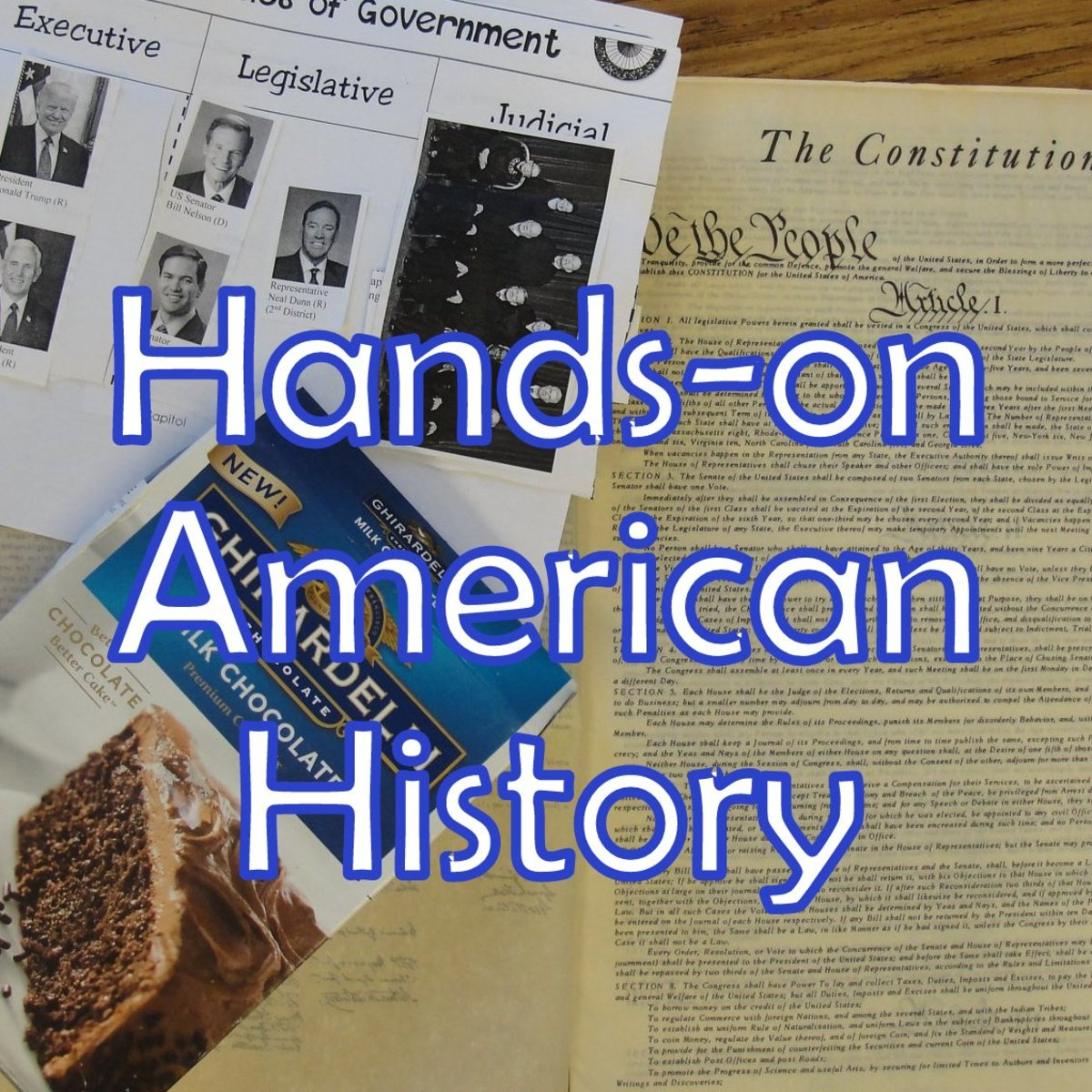 3 Branches of Government Constitution Lesson for Kids