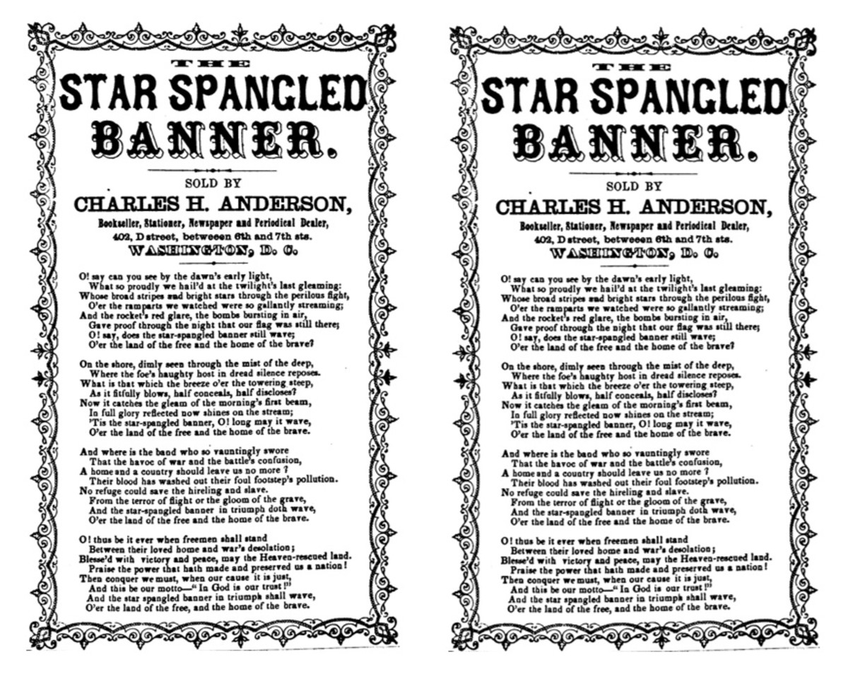 Star-Spangled Banner words
