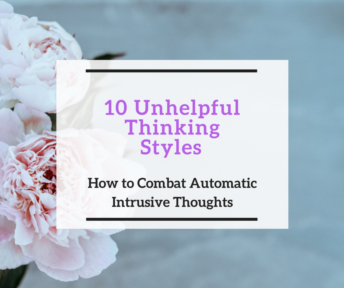 10 Unhelpful Thinking Styles. How to Combat Automatic Intrusive Thoughts.
