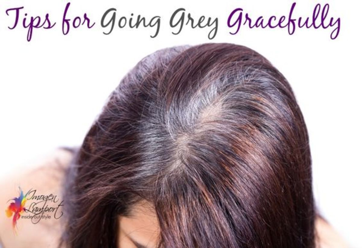 Tips for Going Grey Gracefully!