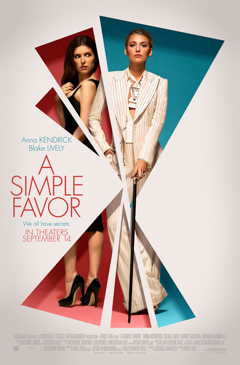'A Simple Favor' Movie Review