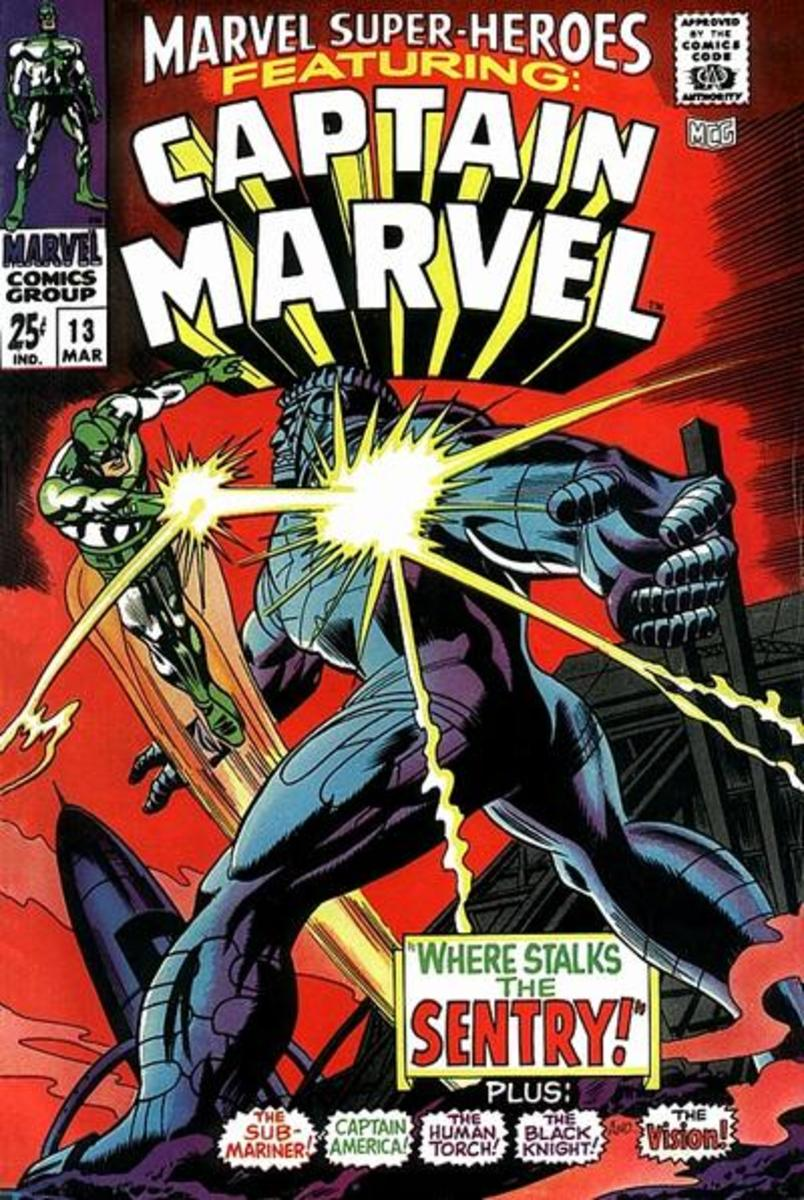 Marvel Super-Heroes #13 - Debut of Carol Danvers